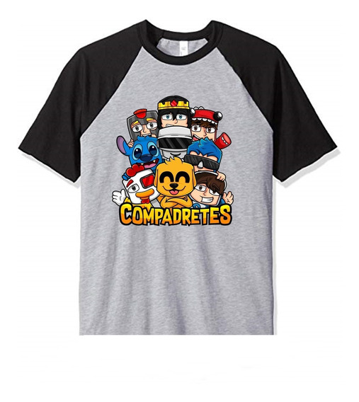 Remera Mikecrack Compadretes Mikecrack Youtubers 2 Niño