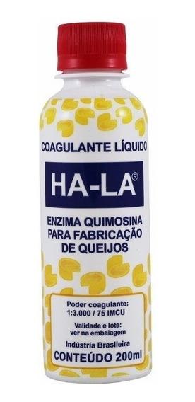Coalho Coagulante Para Queijos - Ha-la 200ml