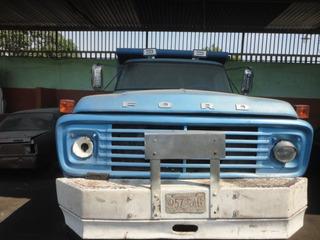 Se Vende Camion Volteo Por Piezas Ford 600
