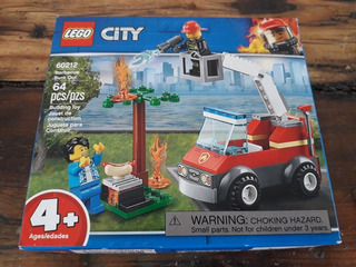 Set Lego City 60212 Barbecue Burn Out