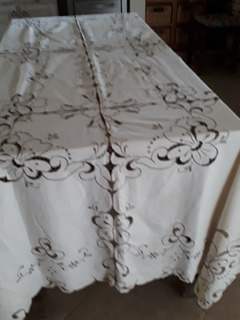 Mantel Granite Bordado