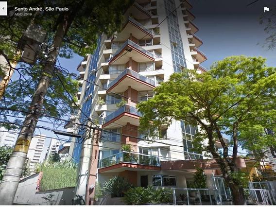 Apartamento Triplex Com 120 M². Sendo 1 Dormitório Com Suite, 2 Vagas Piscina E Churrasqueira À Venda Por R$ 800.000 - Jardim - Santo André/sp - At0010