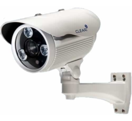 Camera Clear Bullet 75m (analogica) Lente De 16mm
