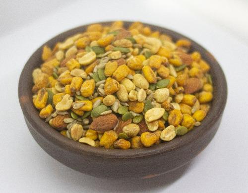Mix Salado Maíz, Girasol, Almendras, Semillas Bolsa 5kg
