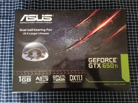 Placa De Vídeo Asus Geforce Gtx 650ti (1gb)