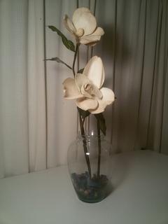 Florero + Flores