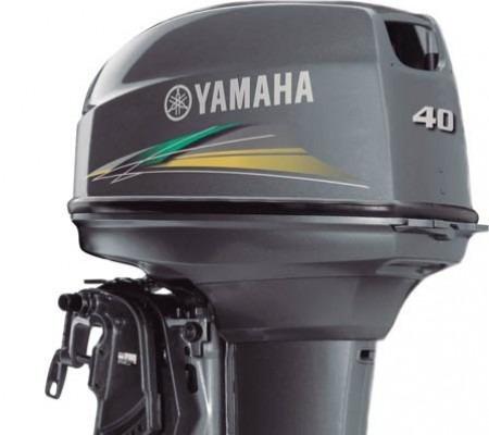 Motor De Popa 40 Hp Yamaha Aws Comando A Distância Zero