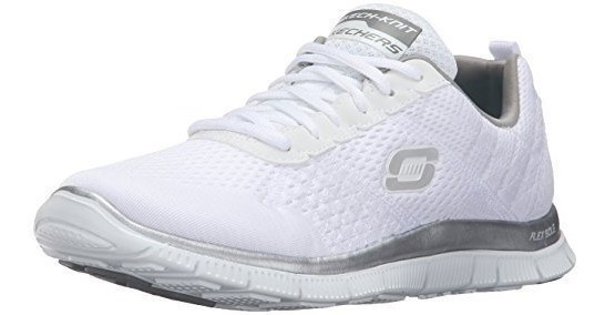 Tênis Skechers Flex Appeal Leve Feminino Black Friday