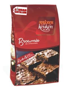 Polvo Para Brownie Keuken X 1 Kg - Ciudad Cotillón