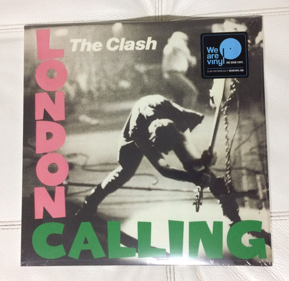 Vinil Lp Duplo London Calling The Clash Lacrado Europeu