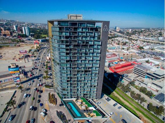 Departamento En Renta Amueblado En Torre Adamant, Tijuana B.c.
