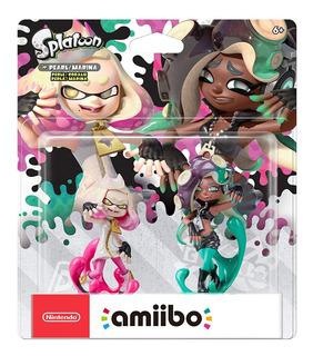 Amiibo Nintendo Pearl & Marina Splatoon 2 Nuevo Y Sellado.