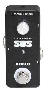 Pedal Kokko Flp2d Sos Loop Para Guitarra O Bajo Looper Usb