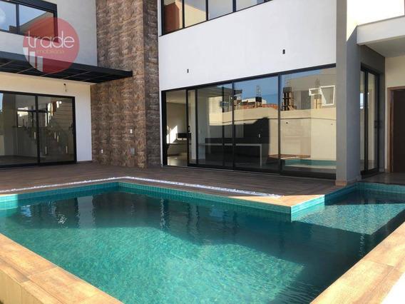 Casa Com 4 Suítes À Venda, 345 M² Por R$ 1.550.000 - Alphaville - Ribeirão Preto/sp - Ca2850