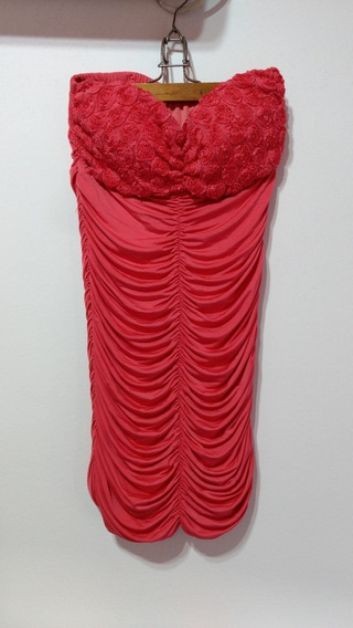 Vestido De Fiesta Strapless