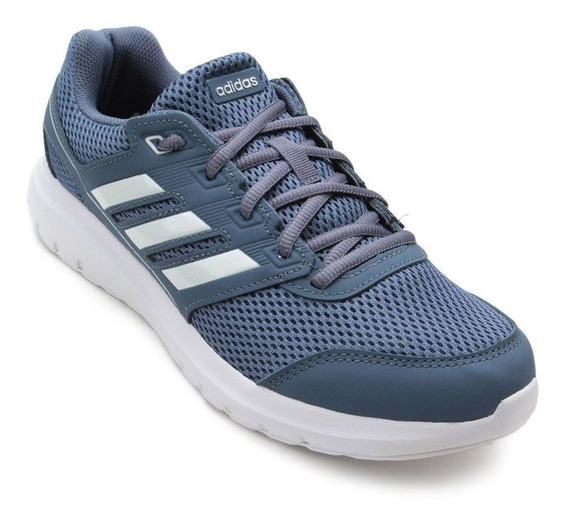 Tênis adidas Duramo Lite 2.0 - Feminino - Azul/branco