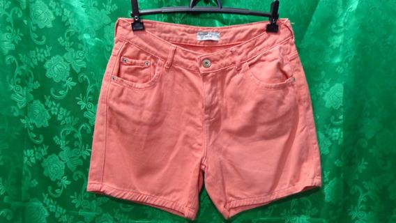 Shorts Jeans Feminino Casual Demim Tm/ 40