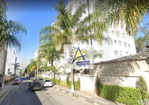 Apartamento Com 2 Dormitórios À Venda, 48 M² Por R$ 210.000 - Parque São Vicente - Mauá/sp - Ap0689