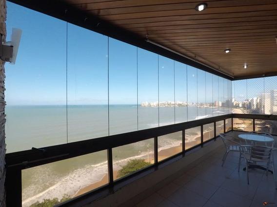 Apartamento Com 5 Quartos Para Alugar, 350 M² - Praia Do Morro - Guarapari/es - Ap3262