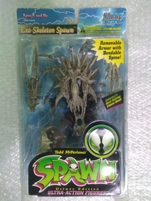 Spawn Boneco Exo Skeleton Spawn Mcfarlane Toys Series 4