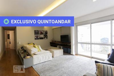 Apartamento No 13º Andar Mobiliado Com 2 Dormitórios E 2 Garagens - Id: 892935757 - 235757