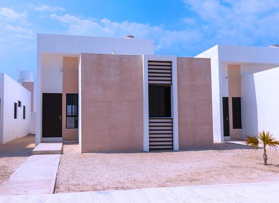 Casas Nuevas En Venta En Chelem De Una Planta