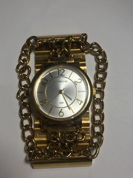 Relógio Feminino Lince-50% Off - Vitrine Mod Ppm195