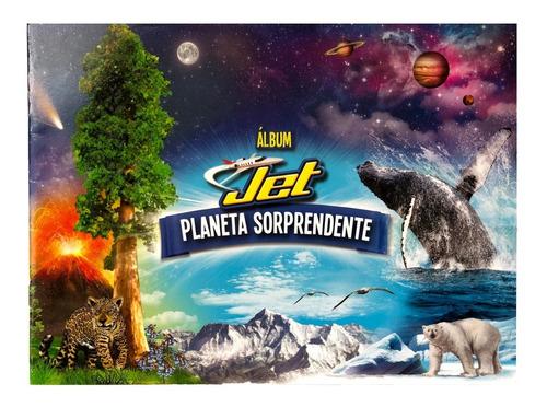 Imagen 1 de 5 de Álbum Jet Planeta Sorprendente - Nuevo