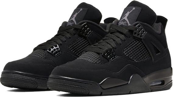 Sneakers Nike Air Jordan Iv Retro Black Cat Original.
