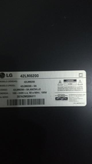 Smart Tv Led 42 3d LG. Lm 6200