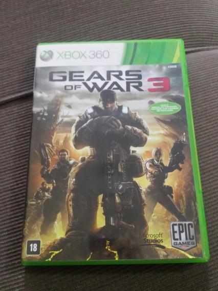 Gears Of War 3 ( Jogo Original Xbox360 )