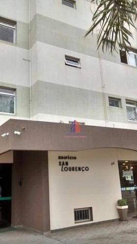 Apartamento Com 3 Dormitórios À Venda, 102 M² Por R$ 365.000 - Edifício San Lourenço - Vila Medon - Americana/sp - Ap0468