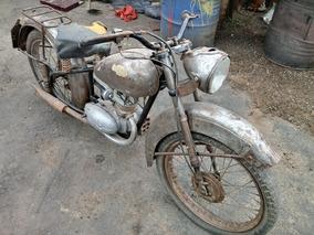 Antiga Bsa Bantan 1948 Serie 1 Não É Nsu Jawa Harley Indian
