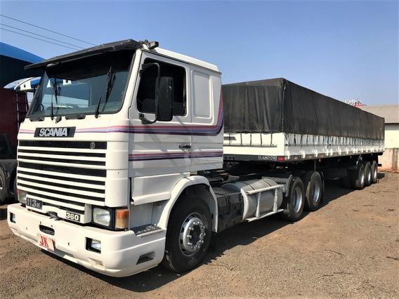 Conjunto Scania 113 Com Carreta Randon