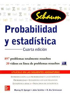 Probabilidad Y Estadística Cuarta Edición Schaum Spiegel Lbr
