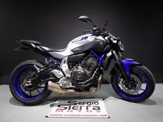 Yamaha Mt07 Gris 2016