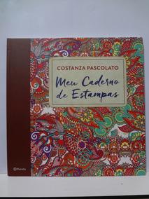 Livro Meu Caderno De Estampas Costanza Pascolato