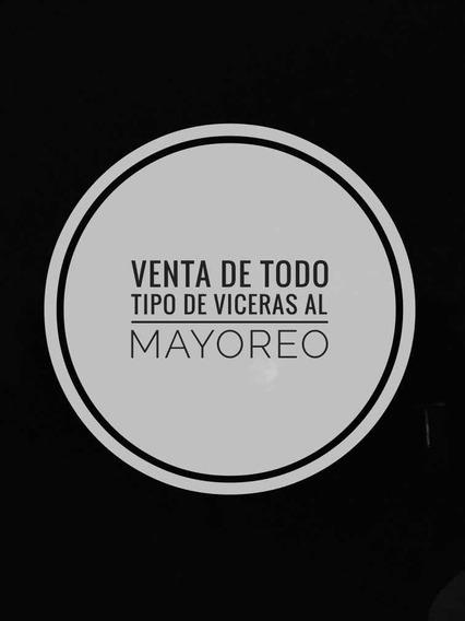 Viceras, Cabeza De Res, Menudo, Libro, Hígado, Patas Etc..