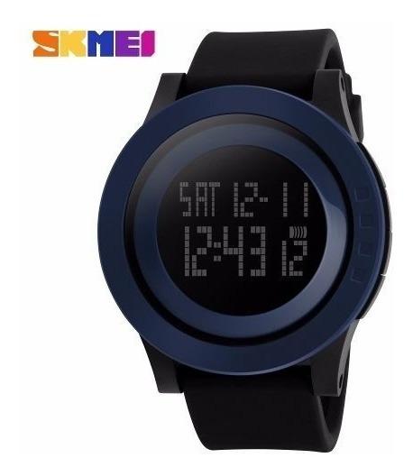 Relógio Masculino Sport Skmei 1142 Digital Azul Wr50m