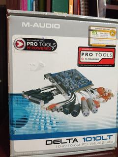 Placa De Sonido M Audio Para Pc De Escritorio