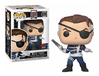 Funko Pop! Nick Fury 528 - Marvel 80 Years Nycc Exclusive