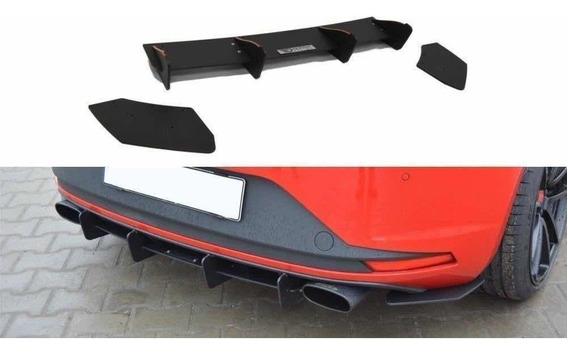 Difusor Maxton Plástico Seat León Mk3 Cupra Auto Turbo Gcp