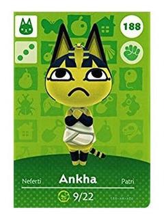 Amiibo Ankha/patri Animal Crossing New Horizons