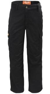 Pantalon Cargo Con Bolsillos De Trabajo Ombu Aire Libre