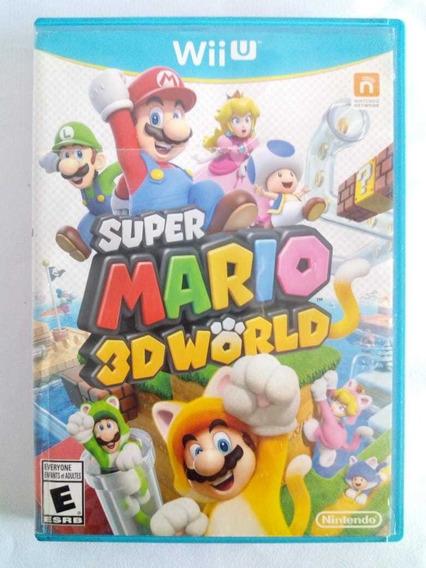 Super Mario 3d World Nintendo Wii U Original