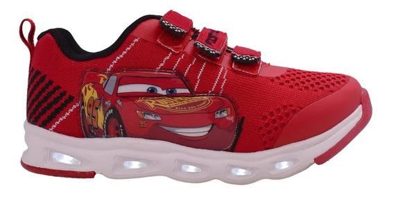 Addnice Zapatillas Niño Flex Extreme Cars Velcro Rojo