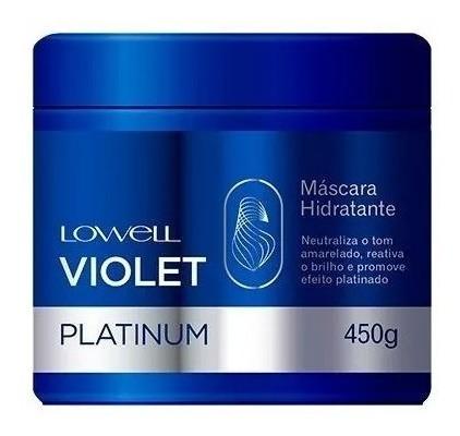 Lowell Violet Platinum Máscara Hidrtatante Profissional 450g