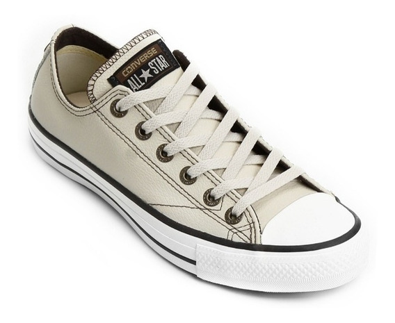 Tênis Converse All Star European Leather Bege Original