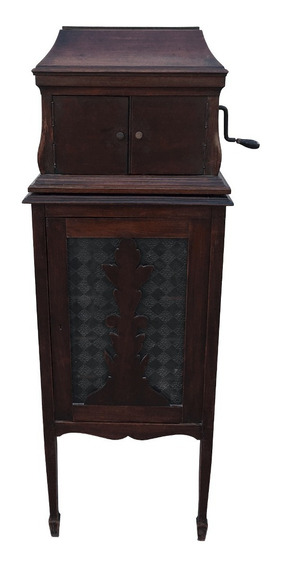 Gramofone Voxophon Vitrola Antiga Com Gabinete