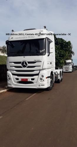 Imagem 1 de 14 de Mercedes Benz Actros 2651